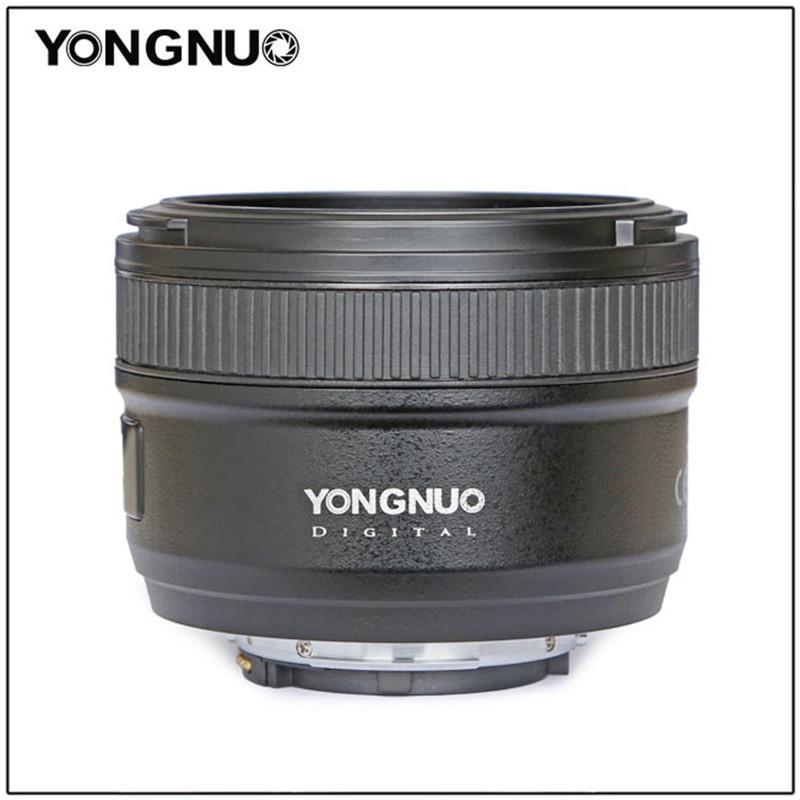 YONGNUO 50 milímetros YN50mm F1.8N grande abertura Auto Focus Lens Para Nikon D5300 lente d3400 d7200 D3100 D3200 D90 D5200 D5100 d5600