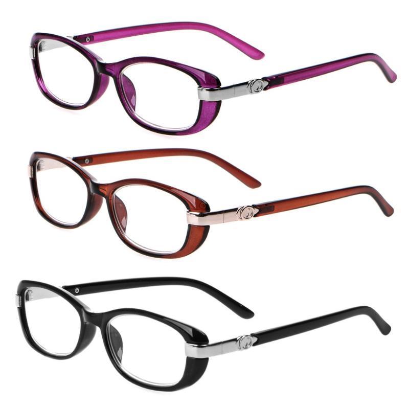 Mode Lesebrille Frauen-Geschäft Brillen Hyperopie Dioptrien +1,0 1,5 2,0 2,5 3,0 3,5 4,0