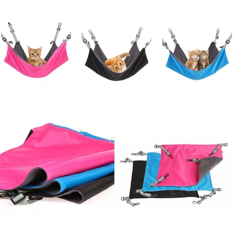 Pet Гамак водонепроницаемый Висячие Cat Bed висячие Summer Cat Гамак Pet аксессуары Котик кровать Drop Доставка