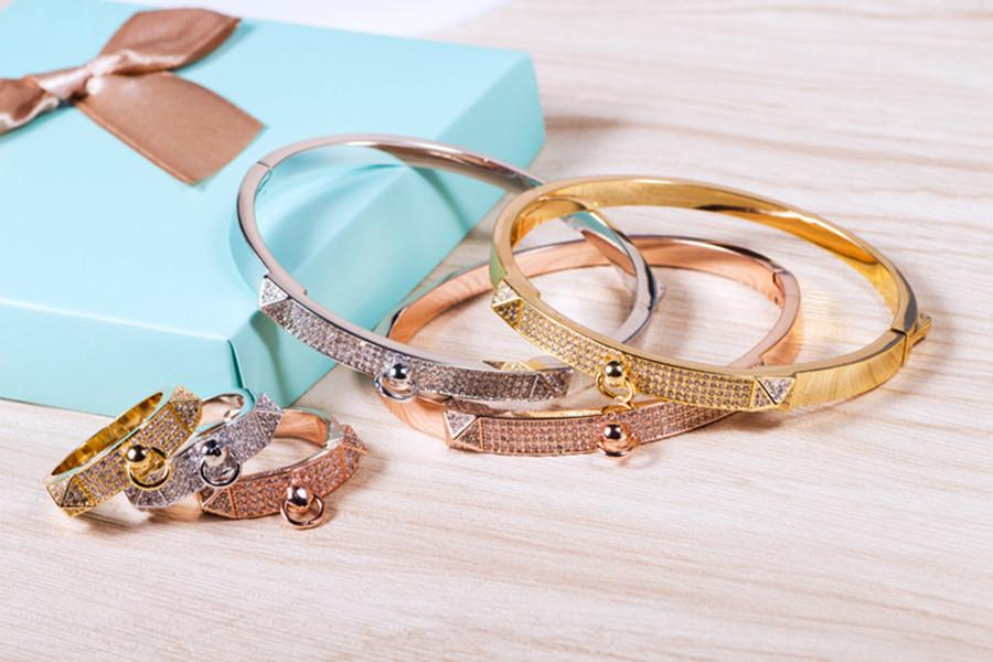 Star with a circular mouth square shield h bracelet set stone accessories wholesale women personality bracelets women bracelet