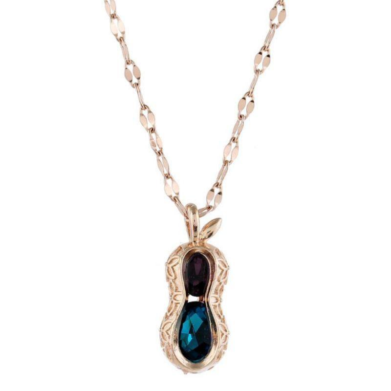 Kreative stieg goldene Frauen Chokers natürliche Frischwasserkristall Halskette Erdnuss-Perlen-koreanische Claviclekette Partei Schmuck