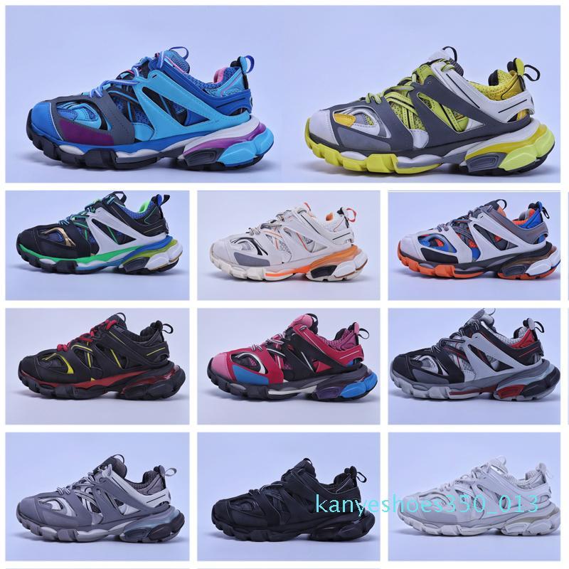 Yeni yüksek kalite 3,0 moda rahat ayakkabılar mavi beyaz pembe erkek ve K13 açık rahat platformu spor ayakkabıları womens