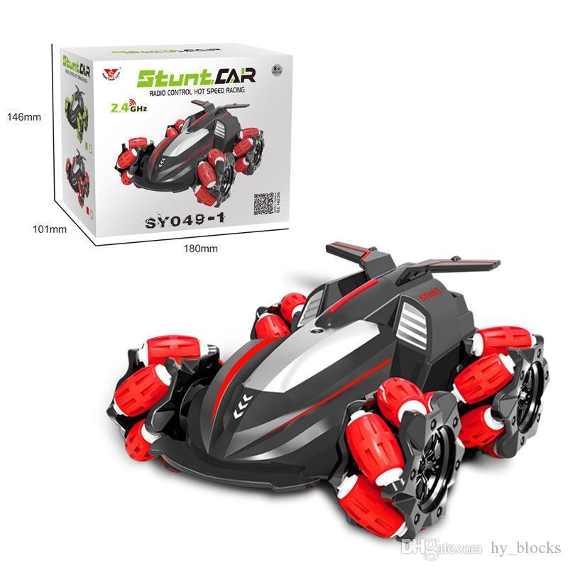 Mini High Speed Stunt Car Decompression Toy 360 Rotating Racing Model Kids Gift