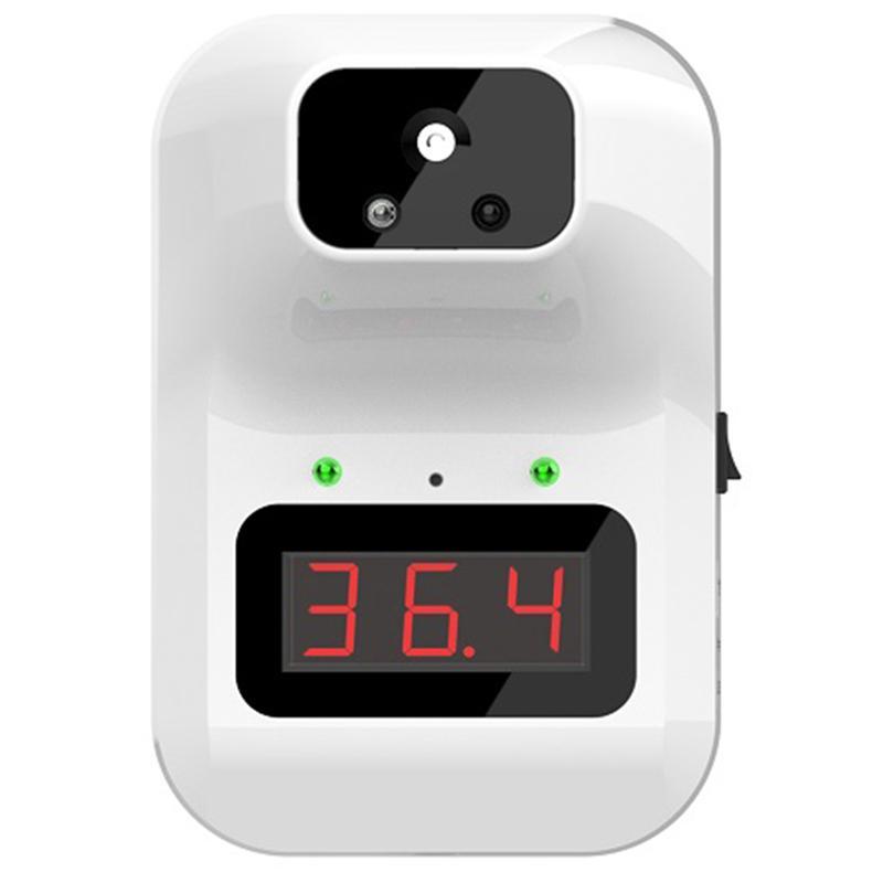 Настенный K3 PLUS Цифровой бесконтактный термометр для тела ЖК-дисплей Office Metro Mall Use