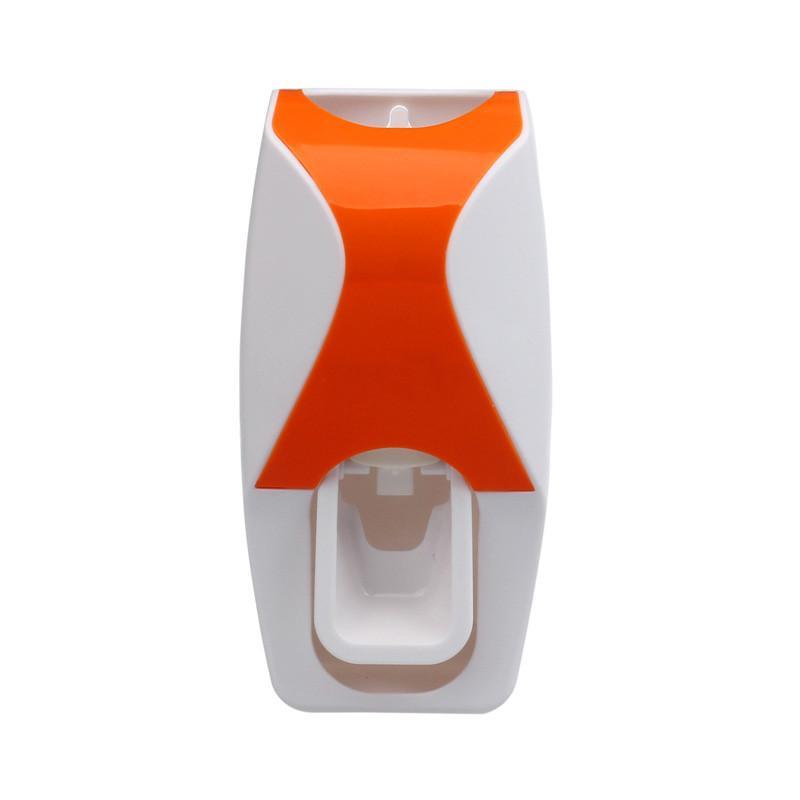 Set preguiçoso Distribuidor Automático dentífrico 5 Escova de dentes suporte de parede Mount Equipamento doméstico Acessórios de Banho Conjuntos Hot Sale wh0473