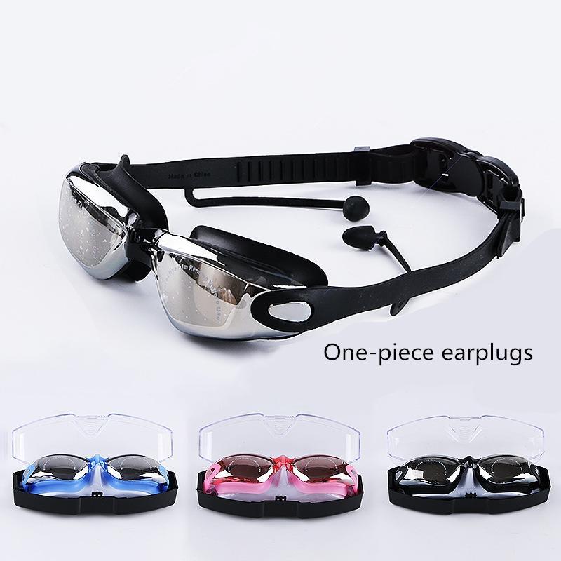 المصنع مباشرة بيع عالية الجودة حار بيع سيليكون عالي الوضوح سباحة نظارات الكبار نظارات السباحة للماء لمكافحة الضباب الطلاء فرنك