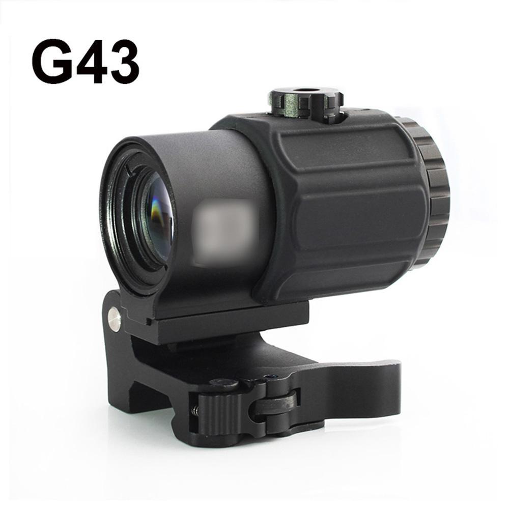تكتيكية G43 نطاق 3X المكبر نطاق مع التبديل إلى جانب STS السريع انفصال QD جبل المكبر بندقية صيد البصر
