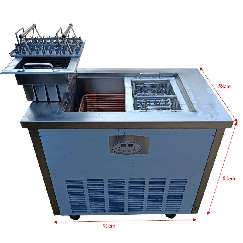 crème glacée en acier inoxydable machine à popsicle commerciale machine à crème glacée dure machine de vente chaude