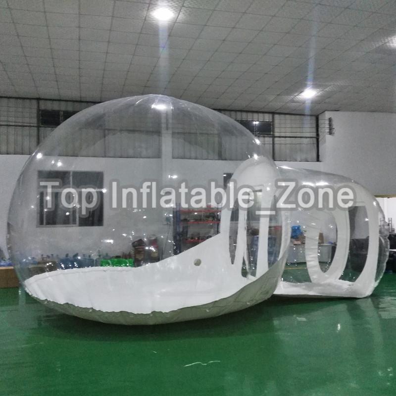 خيمة إيغلو شفافة للحزب تخصيص فقاعة منزل التخييم خيمة للخارج فقاعة شجرة سعر المصنع فقاعة قبة خيمة