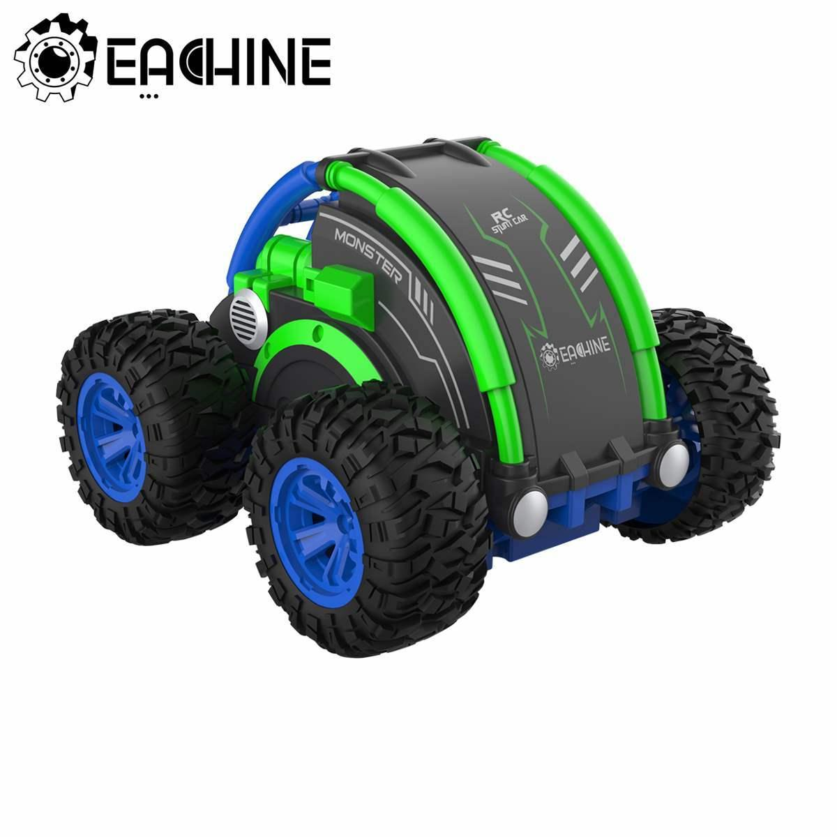 Eachine RC Car Hight Speed Drift Auto Buggy Stunt Drift Deformation Rock Crawler Roll Cars Flip For Kids Adults Toy LJ200918