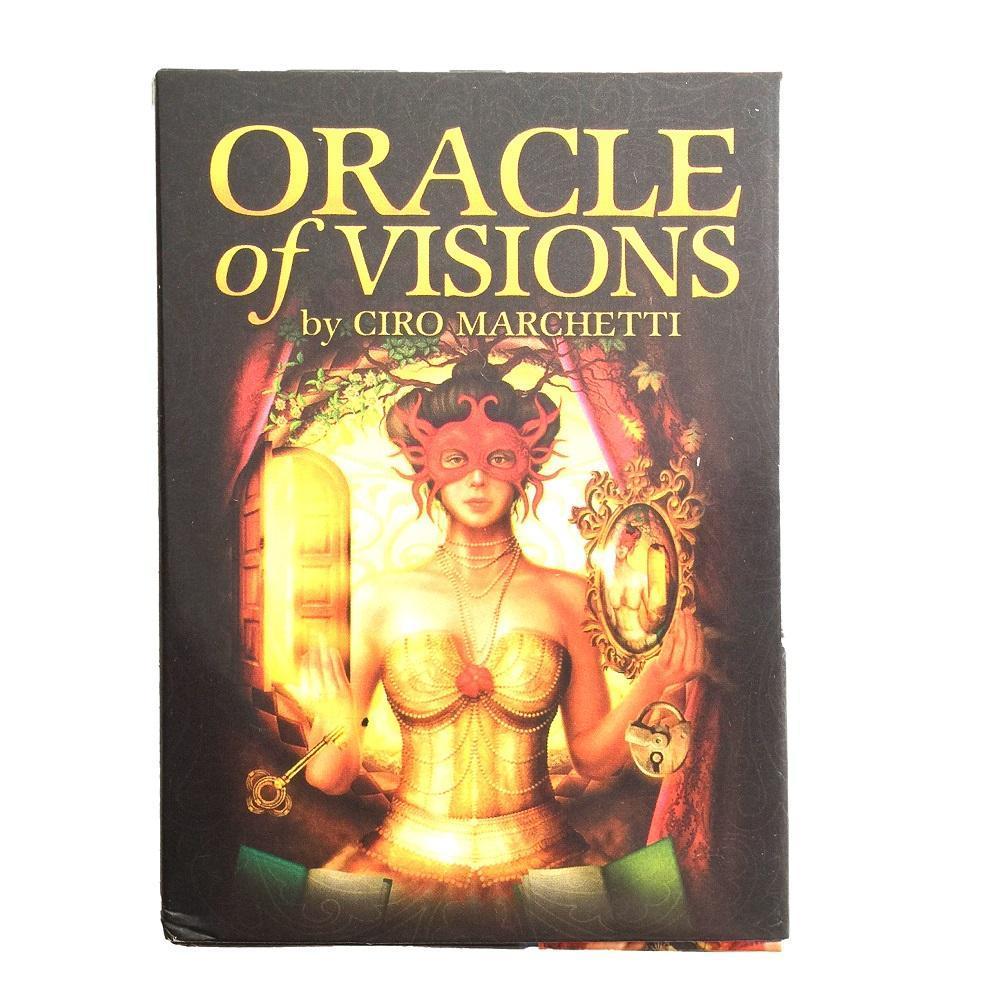 Oracle Tarot L jeu de cartes Oracle Conseil Cartes palying 44 Pcs Party Deck Oracle Jeux pour Visions Of Card bbyEtZ mylovethome