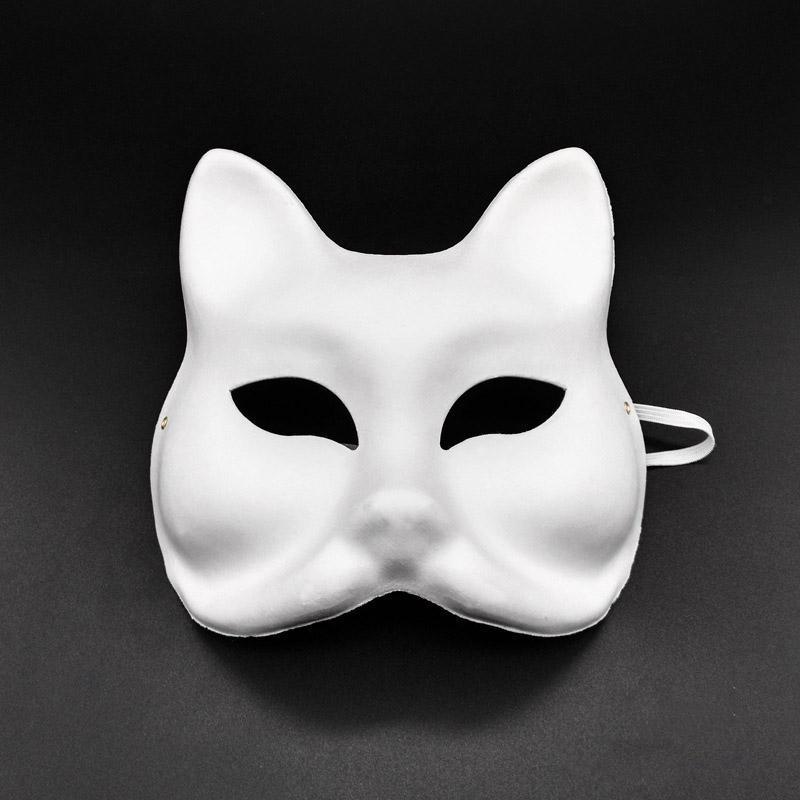Картина Паппер Творческий Halloween Chirstmas партии маски Дети Женщины Мужчины Diy Половина Полнолицевые Маски Hha666