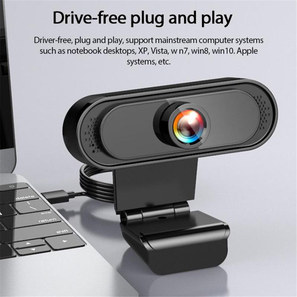 USB 2.0 Genuine Full HD 1080P Webcam Camera Digital Web Cam With Mircophone For Pc Computer Laptop Auto Focus Webcam Camera