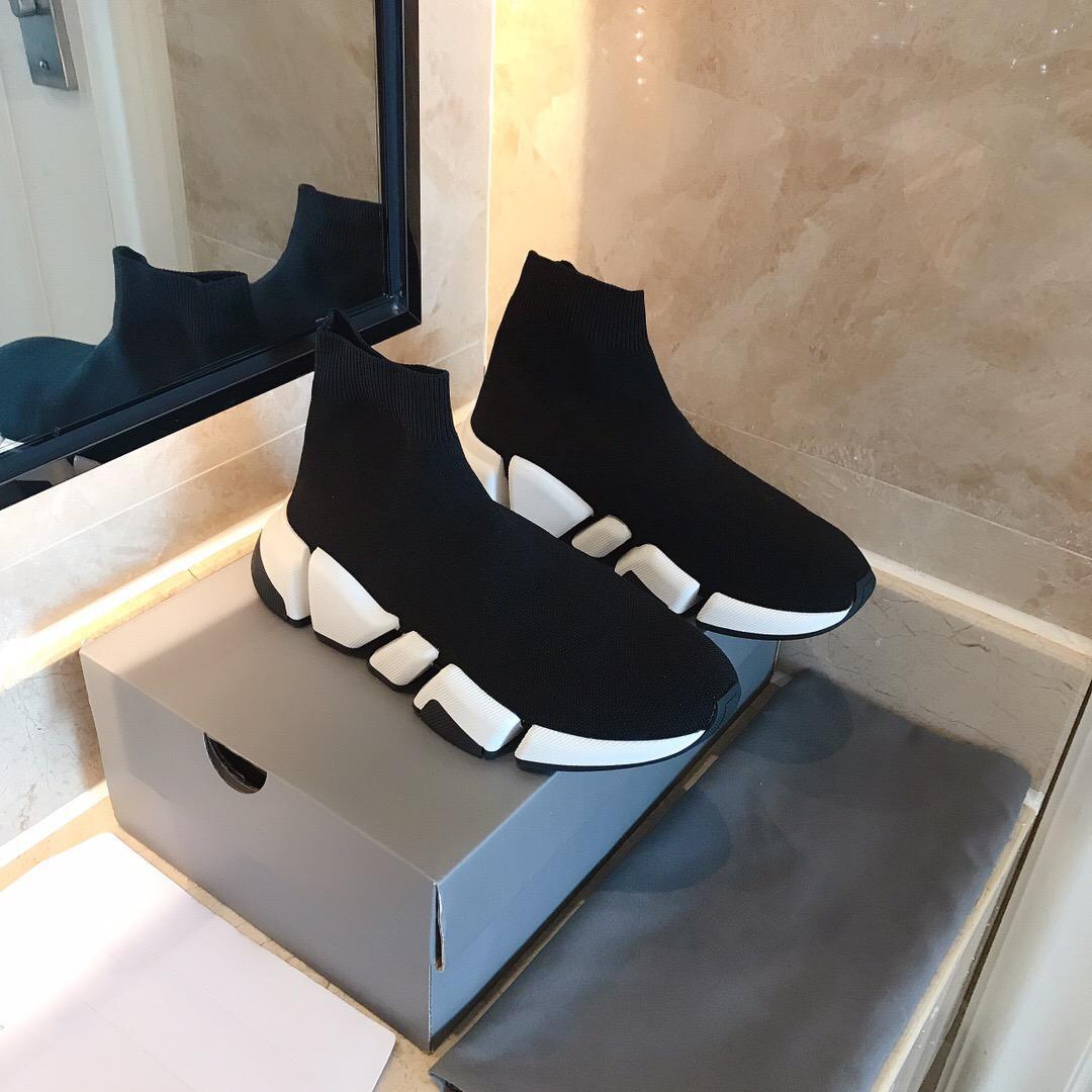 سرعة 2.0 المدرب جورب الأحذية Gypsop سرعة امتداد مدرب الرجال تان speed2 أعلى عال مدرب جورب حذاء عارضة أحذية وفاز بالمركز الثاني luxurydesingner