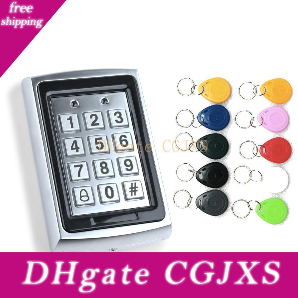 Impermeabile metallo Rfid accesso tastiera di comando a 1000 utenti 125kHz Card Reader tastiera Rimorchio chiave Door Access Control System