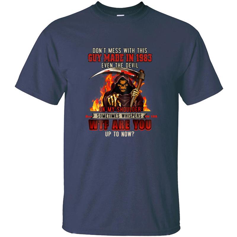 Imprimé Merci pour regarder Guy a fait en 1983 Don Mess T-shirt Homme célèbre Femme Homme T-shirts manches courtes Camisetas