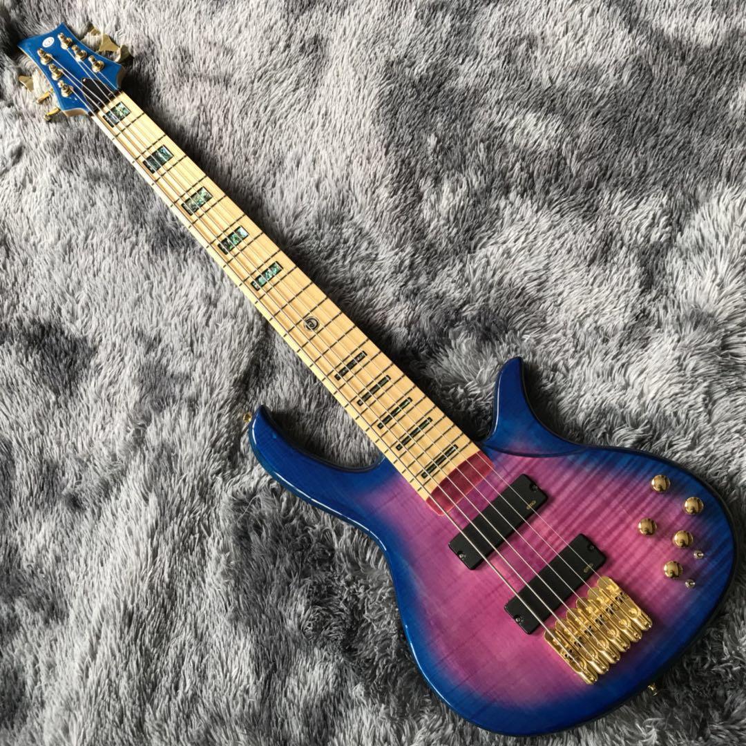 사용자는 골드 하드웨어 낮은 가격베이스 도매 6 문자열 활성 천연베이스 기타 무료 배송베이스 기타를 제공했다