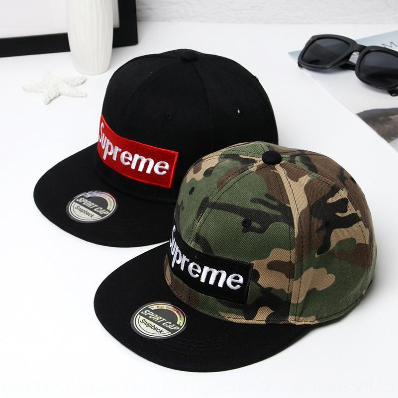 primavera nMfrq Superme Hip-hop di capwomen e berretto da baseball cappello alla moda della protezione del luppolo estate stile coreano maschile cappello piatto fiore bordo piatto