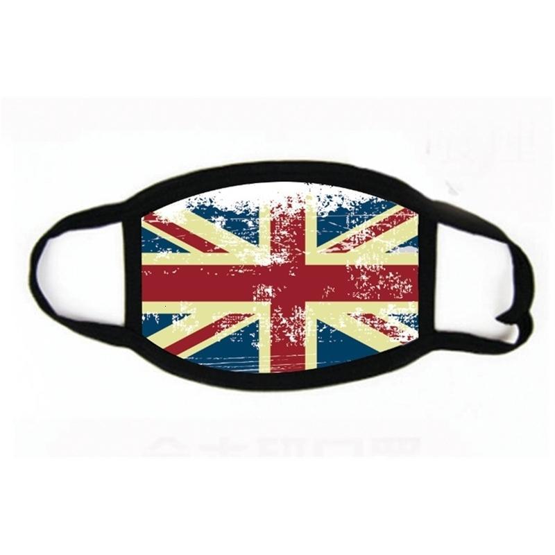 Máscaras ativados Unisex Algodão envio Boca Anti-poeira Máscara Anti Tecido Poluição Rosto Mk09 # 301
