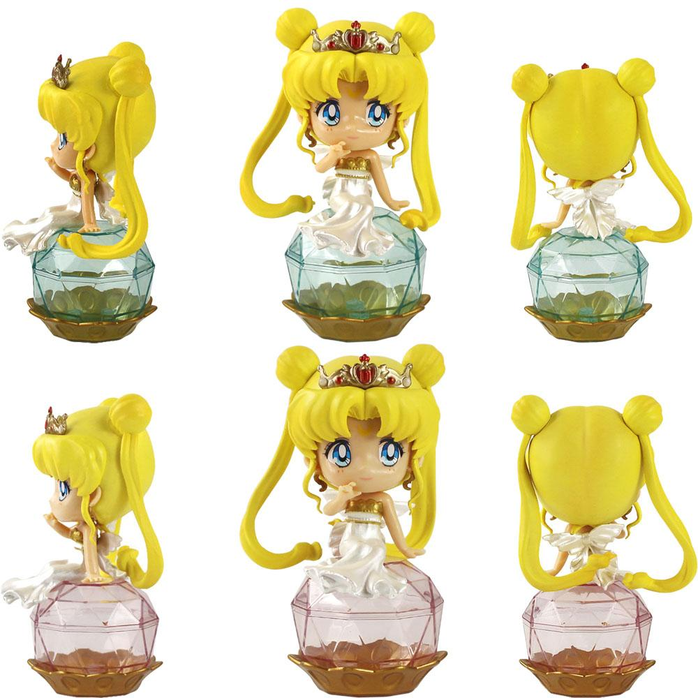 2 Style Sailor Moon Tsukino PVC Action Figure Decoration Collection Model Toy Doll Girls Gifts Toys For Children