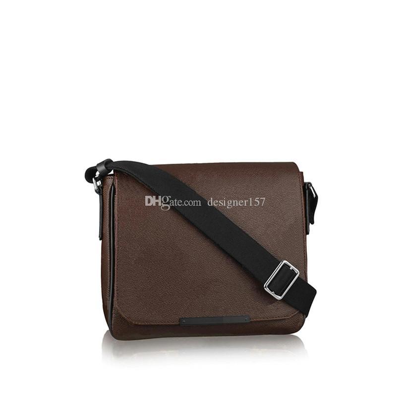Messenger Bag Hommes Sac à bandoulière Sac hommes Sac bandoulière Sacs à main en cuir d'embrayage sac à dos Wallet Mode Fannypack 226-581