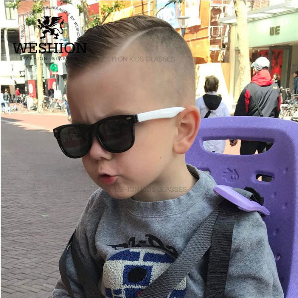 Kids Sunglasses Polarized Children Classic Eyeglasses Rivet Tac Tr90 Flexible Safety Frame Shades For Boy Girl Sun Glasses UV400 U4VX