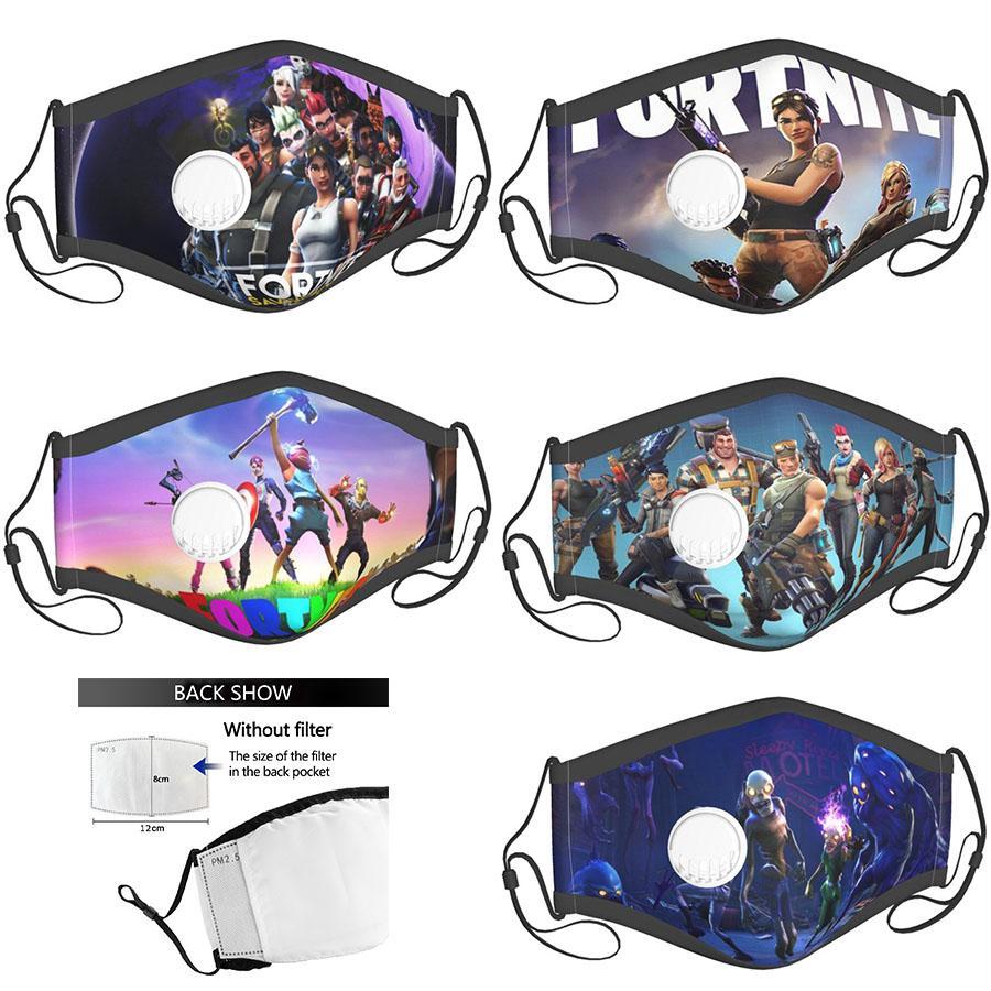 пользовательские лицо маски Fortnite Masque онлайн игра роль взрослого малыша маска mascherina дизайнер хлопка маска многоразовой маски с фильтрами