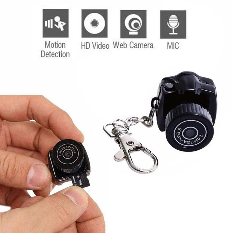 Kaliteli Y2000 HD 1080 P Mini Kamera Kamera Micro DVR Kameralar Taşınabilir Webcam Kaydedici Kamera Samll Cam