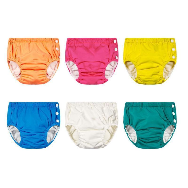 Unisex Ayarlanabilir Swim Bezi Havuzu Pant Swim Bezi Bebek Yeniden Yıkanabilir Havuzu Bezi Bebek Swim Bezi KKA8098