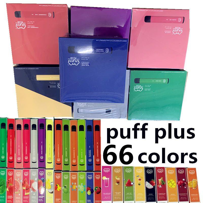 Fabbrica, 2021 Più Nuovo 66 Colori 66 Colori Plus Bar Plus Bar Vuoto 800 + sbuffi da 3,2 ml Ecigs monouso PUFF OEM Aggiornato monouso 550mAh VAPEQ BLVEQ