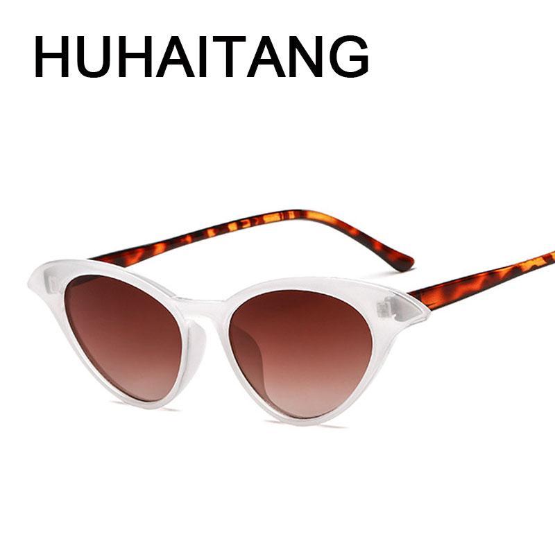 Orelha Moda Car HUHAITANG Sunglass Mulheres do olho de gato Sunglasses Womens Designer Qualidade Cateye óculos de sol Mulher