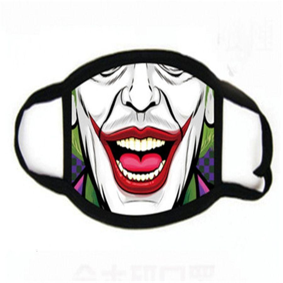 Maske 2020 Outdoor Sports Ot Alloween Cosplay Fa Masken Staub Warm windundurchlässiges Cotton Festliche Partei Printing Masken # 102