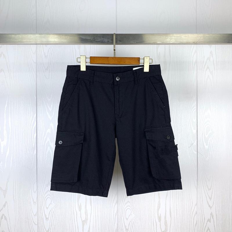 CP TopStoney Pirate Company 2020 Konng Gonng Лето Новая Боковая этикетка Карманные Воды Мойка Протеивание Простые Шорты Модные Бренд Повседневные штаны