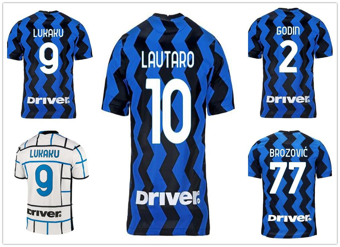 Customized 20-21 10 Lautaro 9 lukaku 7 ALEXIS Soccer Jerseys 77 Brozovic 8 Vecino 10 Lautaro 14 Nainggolan 12 SENSI Football Soccer WEAR