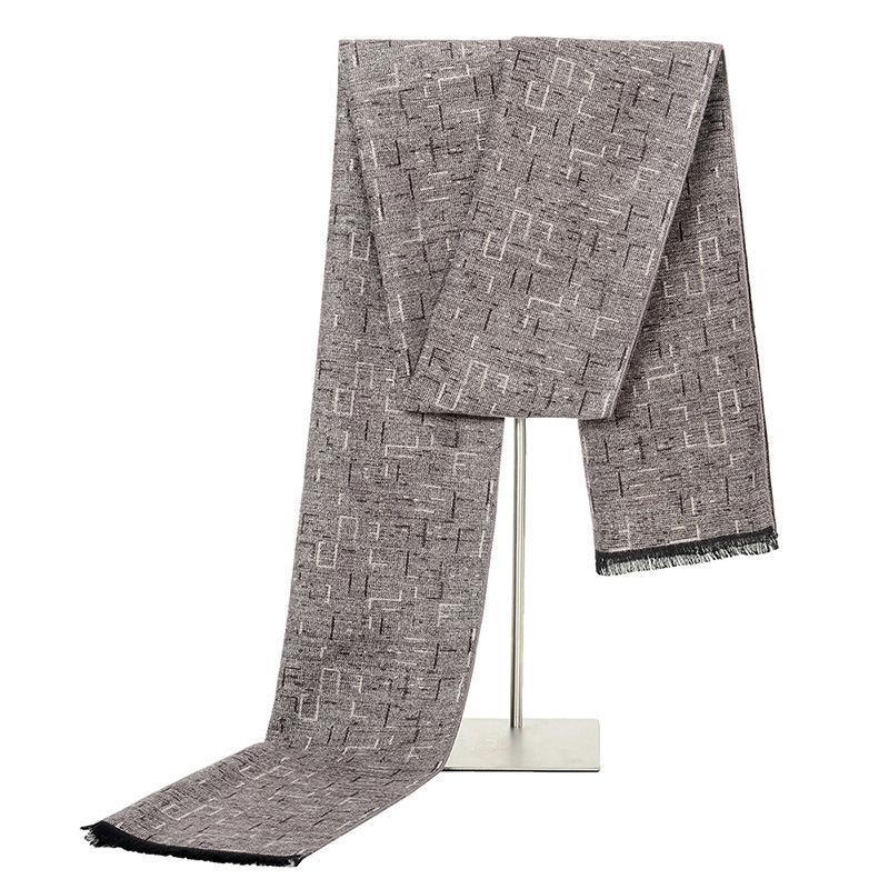 Männer Gitter Farbe Kaschmir-Schal mit Troddel 2020 Herbst-neuer weichen warmen Winter Wraps langen Schal Weiblichen Schal Männer Schale