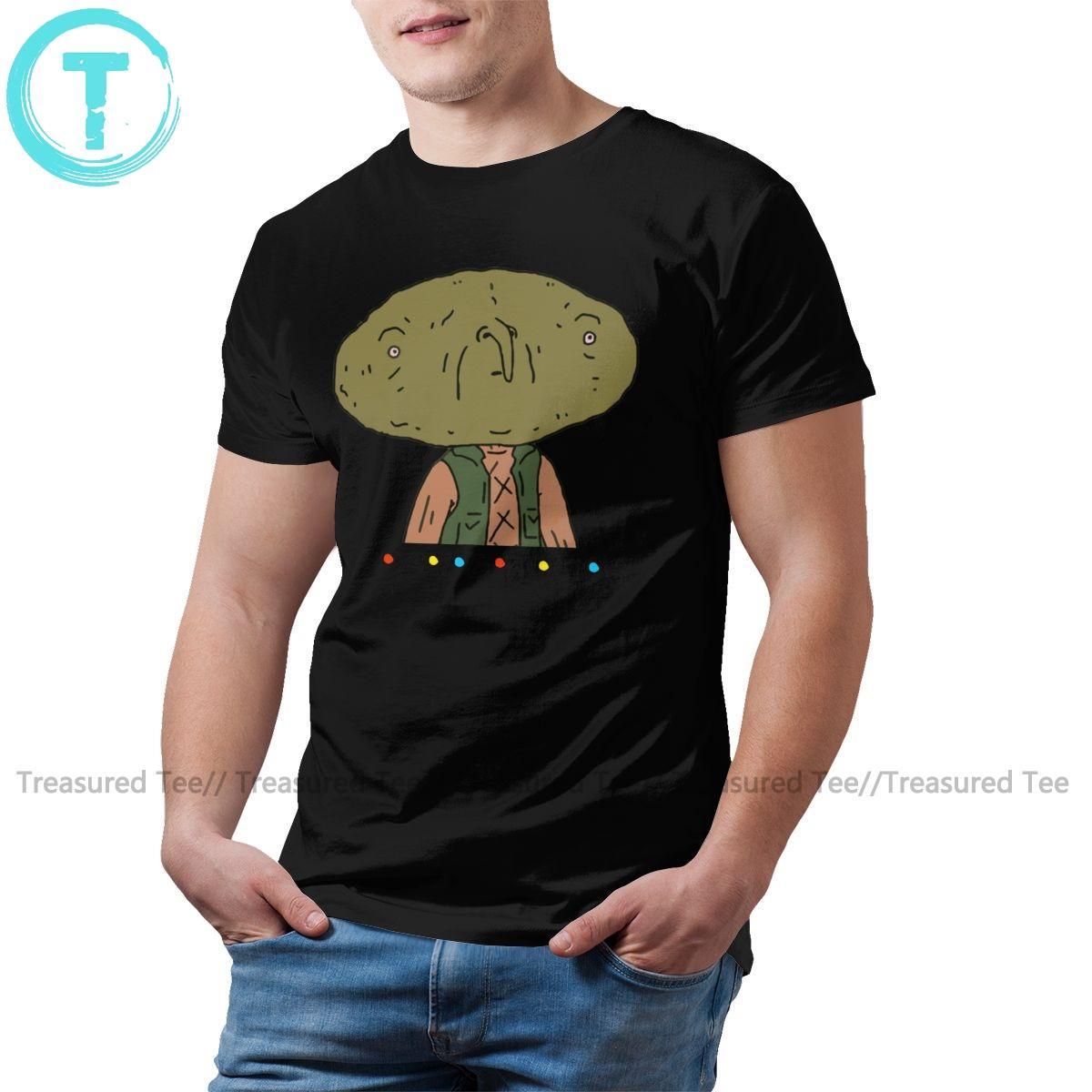 Kartoffel-T-Shirt Clarence T-Shirt Spaß-Basic-T-Shirt mit kurzen Ärmeln Männer 5x 100 Prozent Baumwolle T-Shirt-Druck