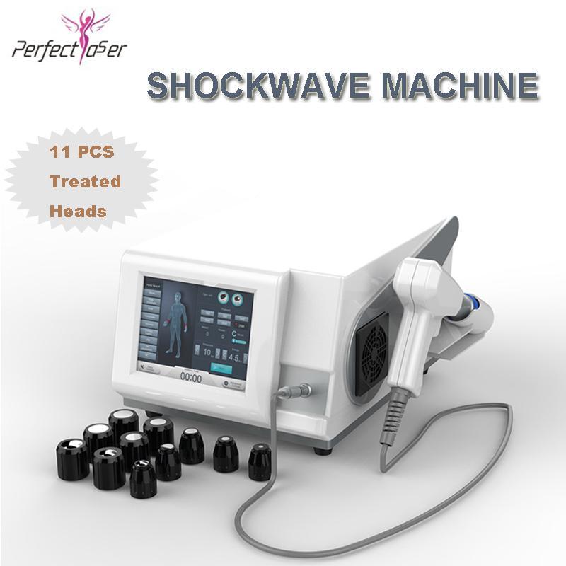 Onda de choque Beauty Machine Dolor Trate ShockWave ShockWave Terapia en la máquina de adelgazar La recuperación de la lesión del deporte El tratamiento del dolor del hombro del hombro Cuidado del cuerpo
