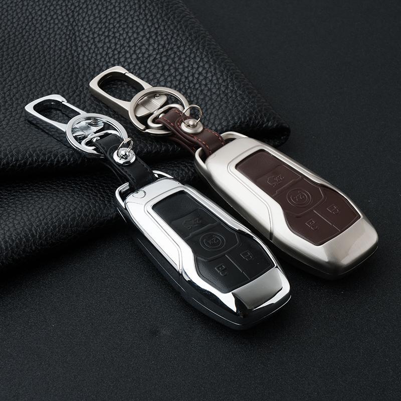 Ключевой набор сумка ForLINCOLN MKZ / MKC / МКХ цинковый сплав Key оболочки крышки случая