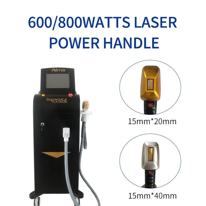 Лучшие продажи машины для удаления волос Новый Диодный лазер с длиной волны 808nm три + 755nm + 1064nm постоянное безболезненное удаление волос быстро
