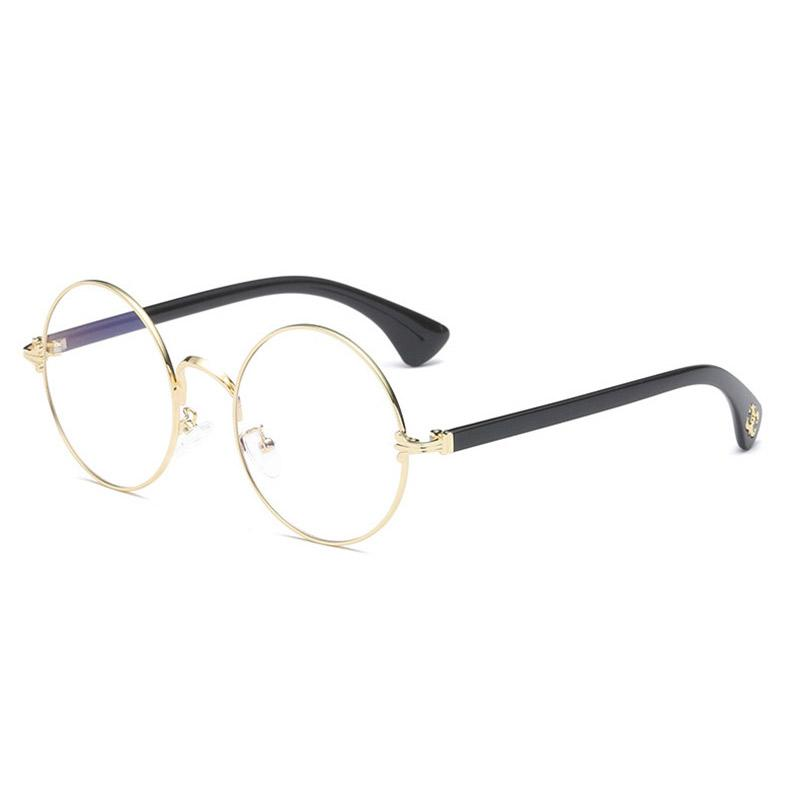Super leve Alloy Quadro Eyewear completa Rim Rodada Espetáculos Homens e Mulheres Estilo Optical Espetáculos