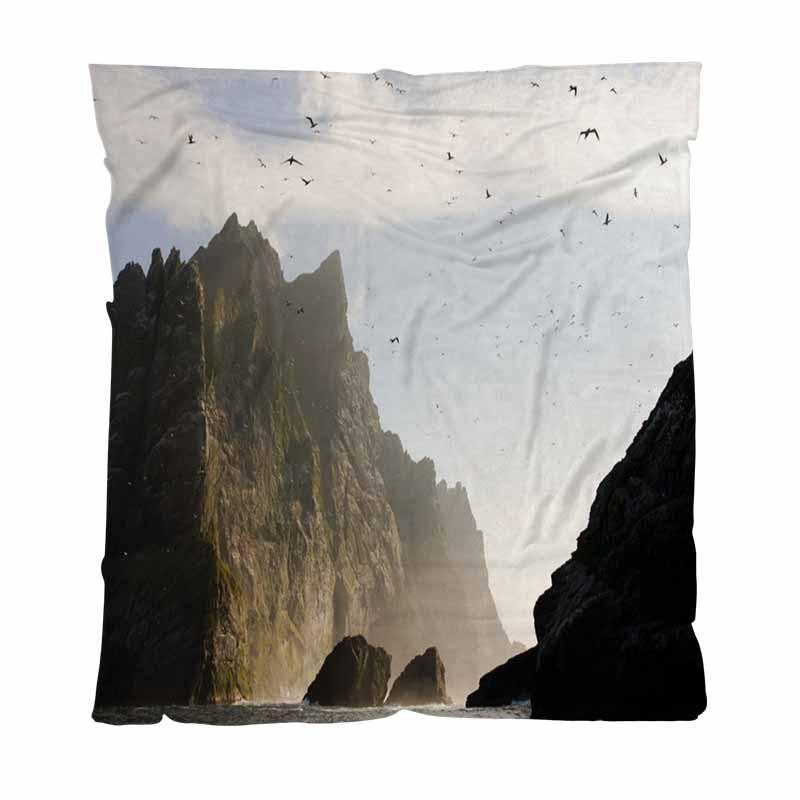 Luxo Super Macio lançar cobertor, St Kilda Reino Unido, Couch / Cadeira / Love Seat / Camping Car Blanket