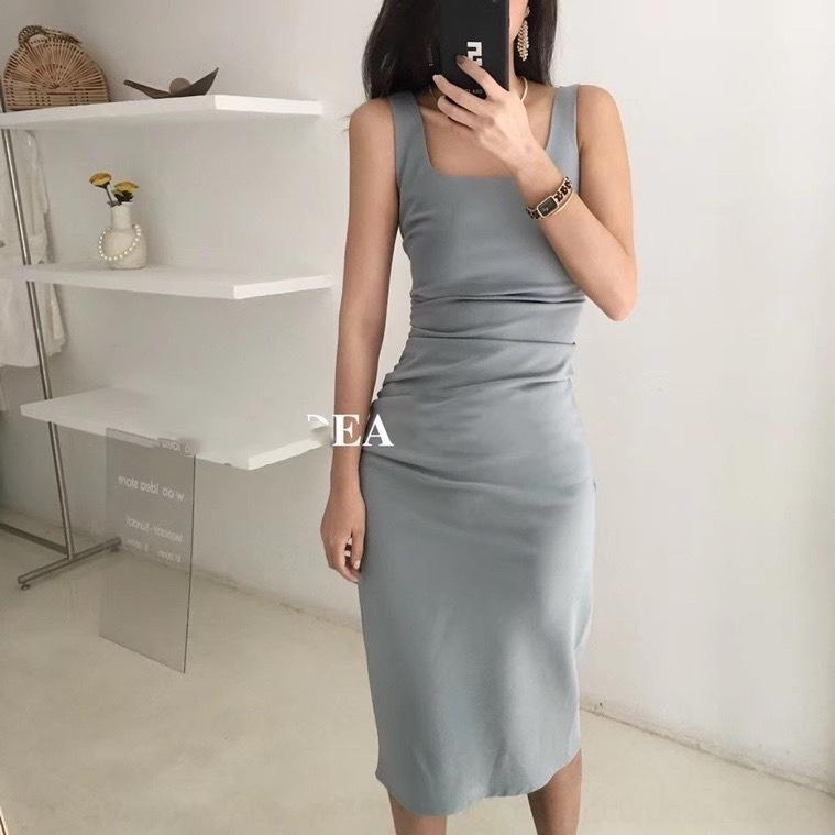 lU4ix overwear во французском стиле светло-штуцер женщин юбки талии похудения элегантного 2020 стропа Интернет платье юбки в складке летней знаменитости живота