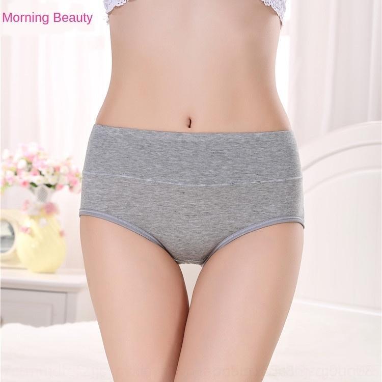 xE7La PiQZ4 Four Seasons vender grandes hip puro algodão meados de cintura abdominal lif cueca todos os tamanho de vários tamanhos multi-cor das mulheres roupas íntimas femininas