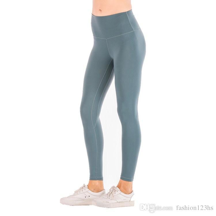 5 colores del diseño del bolsillo de yoga pantalones de cintura alta Deportes Leggings Mujeres de la gimnasia medias elásticas de secado rápido Mujeres pantalón polainas