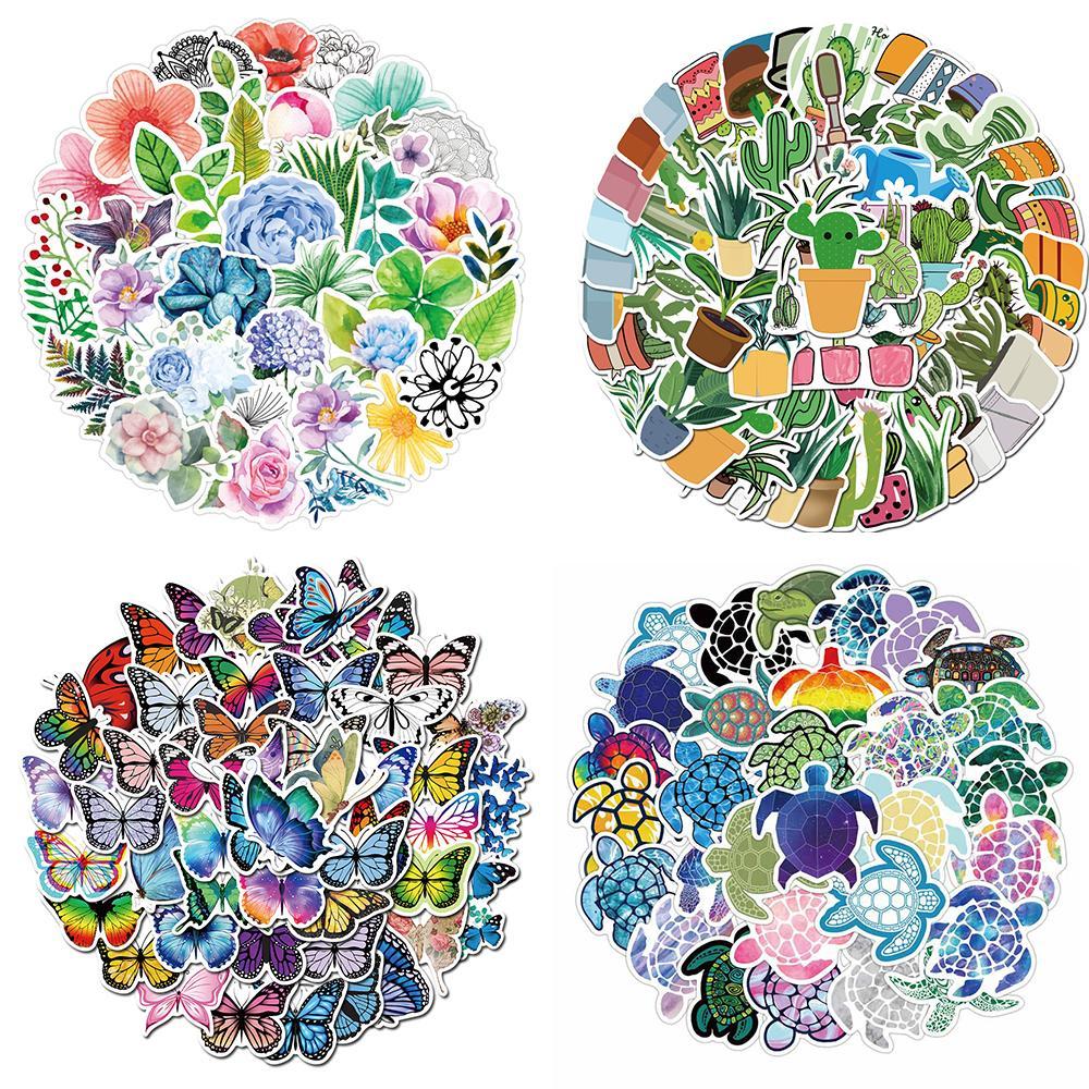 Süße Frische Stil Serie Aufkleber Wasserdichte Aufkleber für Kinder Spielzeug Teenager Erwachsene Geschenke Auto Laptop Gepäckflasche Aufkleber