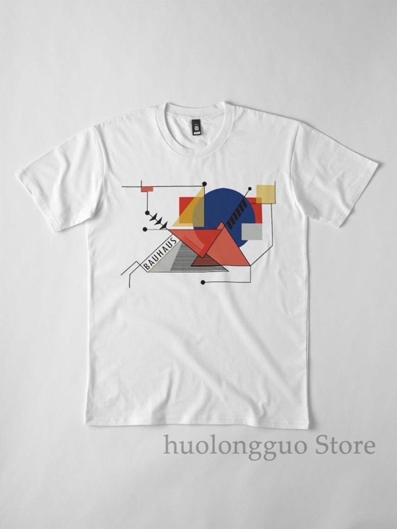 Bauhaus-Manifest-Bewegung 1919 Walter Gropius Artwork Reproduktion T-Shirt Shop Tee Shop T-Shirt für Männer Frauen Kinder Jugend