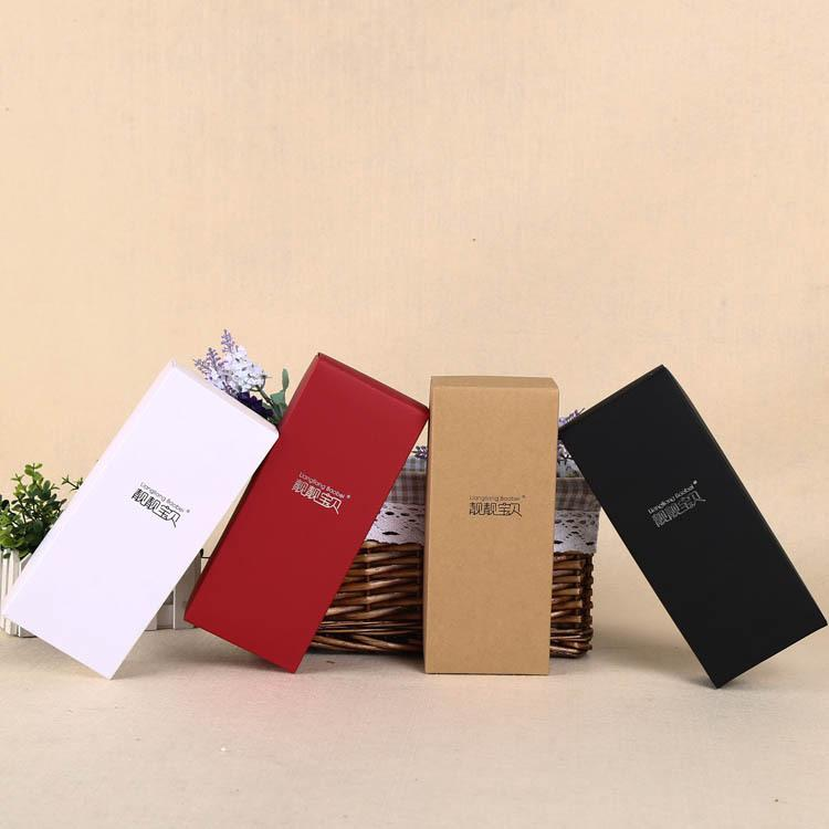 DHLSF_Express petites boîtes d'emballage en carton de taille et kraft Boîte Recyclable caisse d'emballage papier pour les vêtements et jouets.