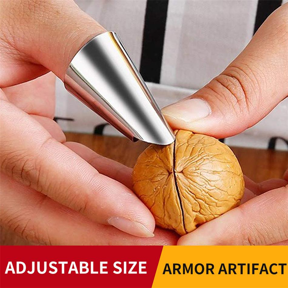 Finger Guard Protect пальцев рук Cut рук Protector нож Cut Finger инструмент защиты из нержавеющей стали Kitchen Tool Gadget