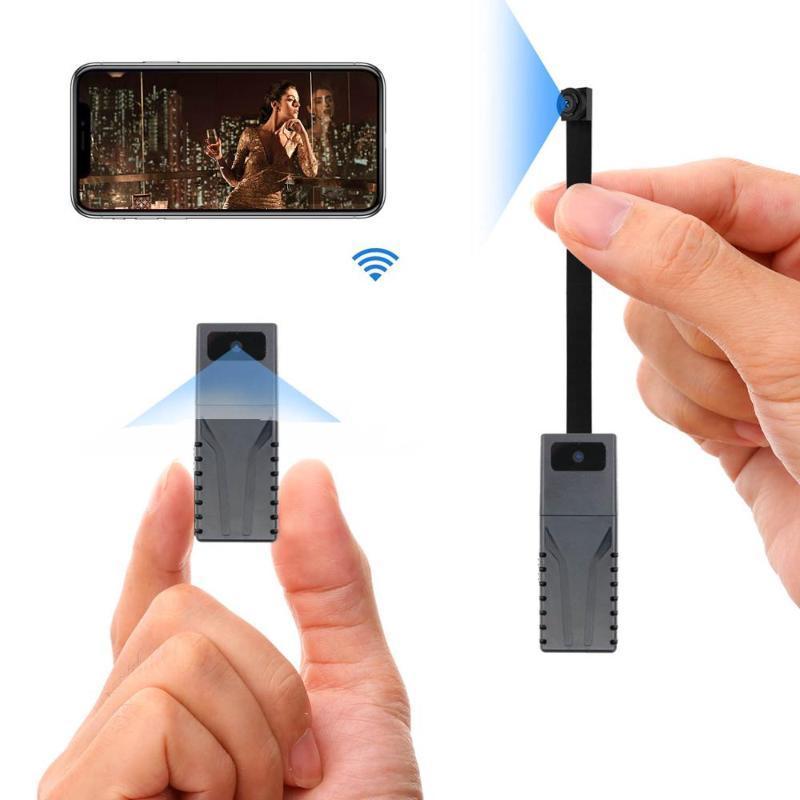 Tannccc HD 720P Remote View TF card DIY Portable WiFi IP Mini Camera P2P Wireless Micro webcam Camcorder Video Recorder Support
