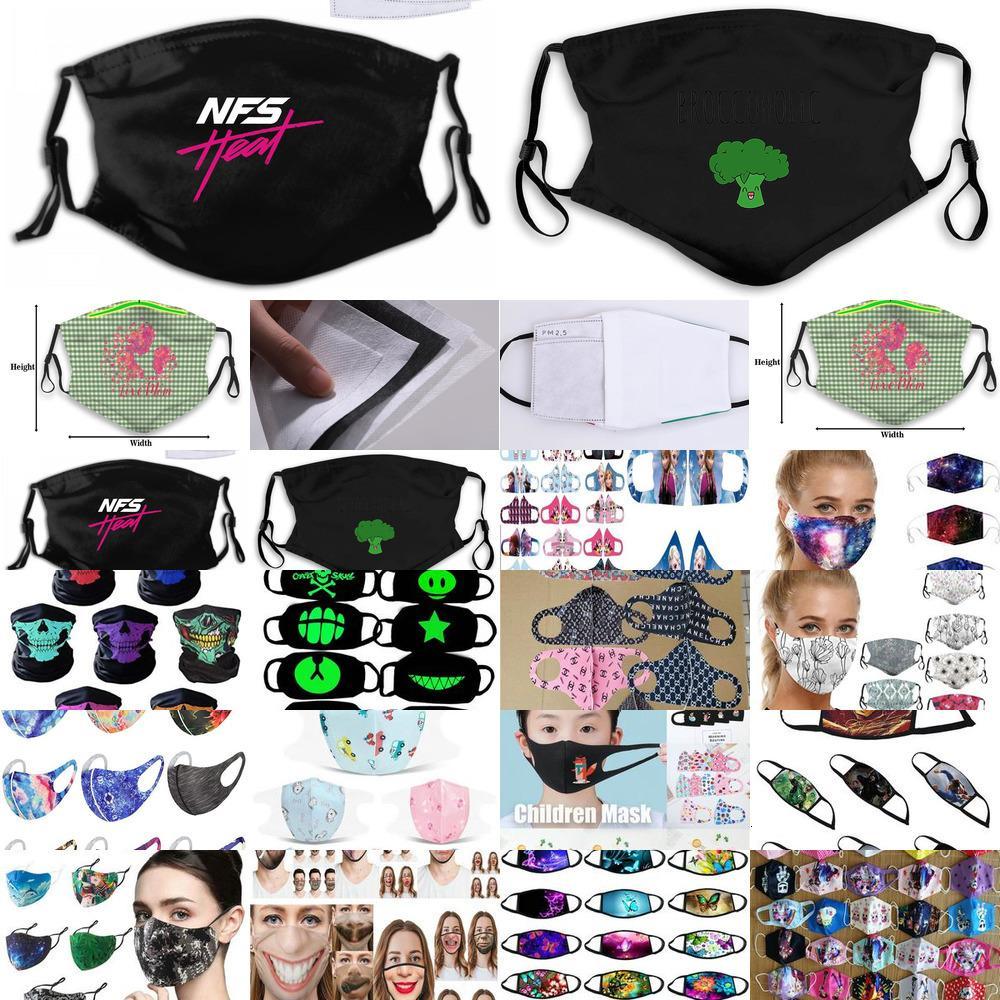 Aşıklar Brokoli Vejetaryen Komik Yeni Maske Bayan Çocuk PM25 Broccoholic Vegan Ttsst